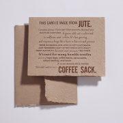 Jute Card 1